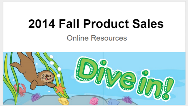 Fall Product Sales 2014   Google Slides