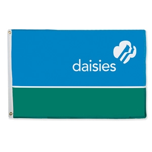 GS Daisy troop flag